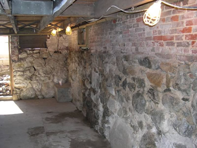 Tuckpointing rubble foundation repair mohlermasonryblog for Poured foundations